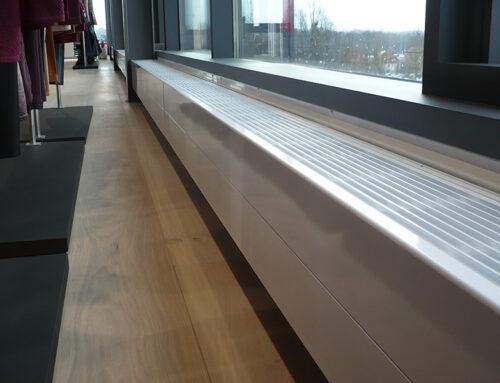 JOCO StepLine wärmt neuen BRAX-Showroom