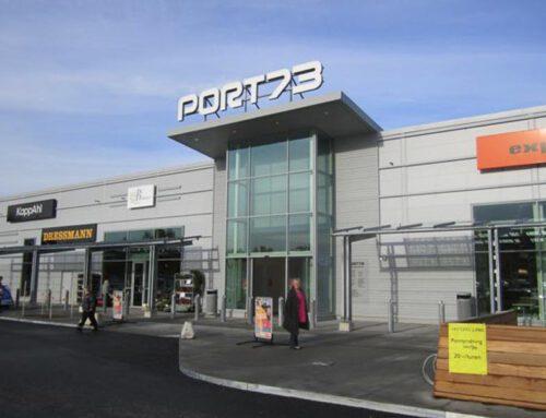 KlimaLeisten für Einkaufzentrum Port73 in Stockholm