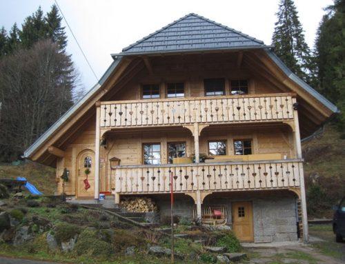 Ökologische Deckenheizung für Forsthaus